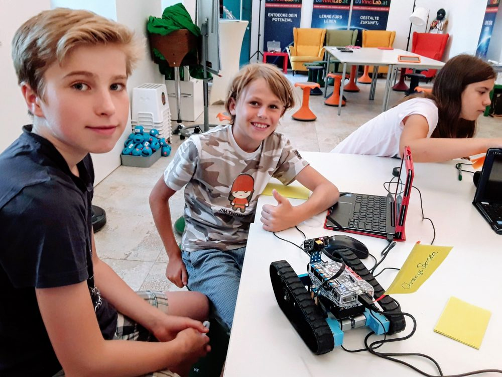 DaVinciLab Coding & Robotics mit Makeblock Ranger