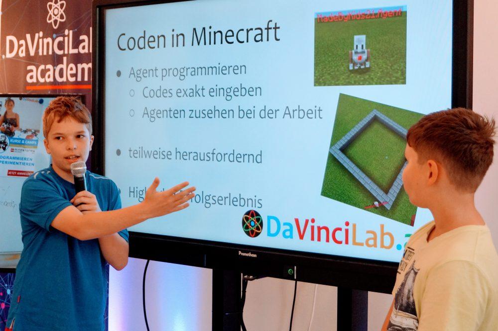 DaVinciLab Minecraft 03
