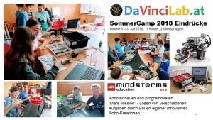 DaVinciLab Feriencamps