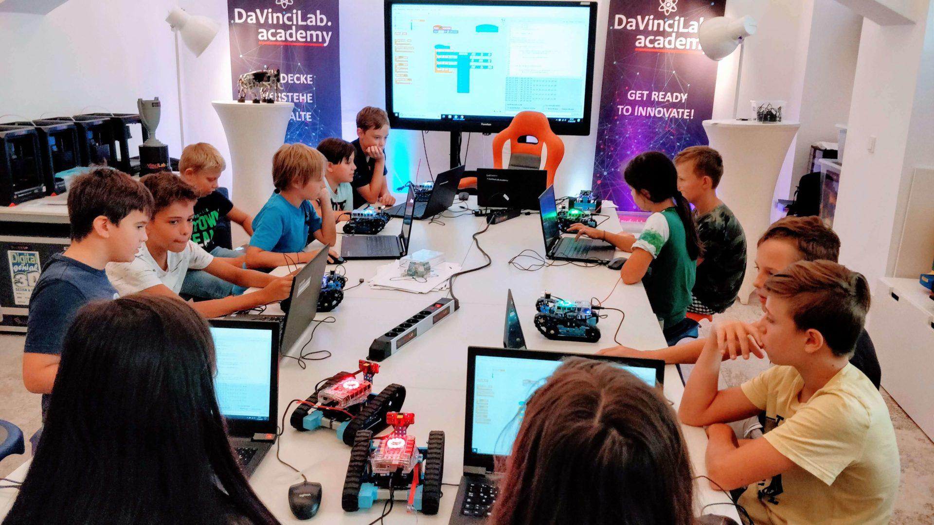 DaVinciLab Sommercamp