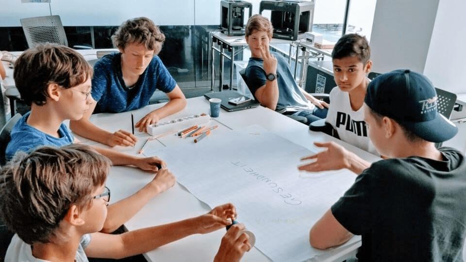 DaVinciLab Sommercamp Wien Kreative 07